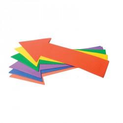 Nyíl alakú padlójelölő szett Fejlesztő játékok Amaya
