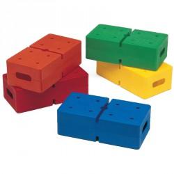 Tégla építőjáték Fejlesztő játékok Amaya