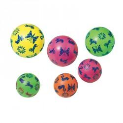 Rücskös, mintás PVC labda 220 mm-es Játéklabda Amaya