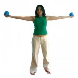 Reflexlabda marokerősítő 1 kg Egyéb erősítő eszköz Amaya