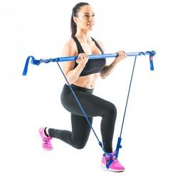 Fitnesz rúd Gymstick Original közepes kék Speciális eszközök Gymstick