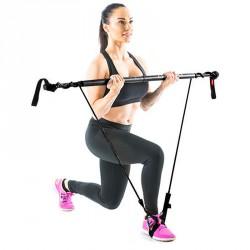 Fitnesz rúd Gymstick Original erős fekete Speciális eszközök Gymstick