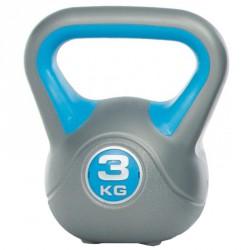 Műanyag kettlebell Gymstick 3 kg Kettlebell, harangsúly Gymstick