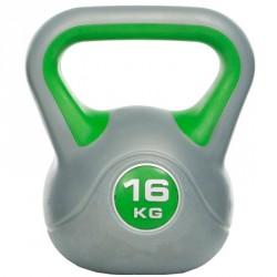 Műanyag kettlebell Gymstick 16 kg Kettlebell, harangsúly Gymstick