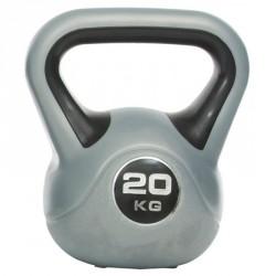 Műanyag kettlebell Gymstick 20 kg Kettlebell, harangsúly Gymstick