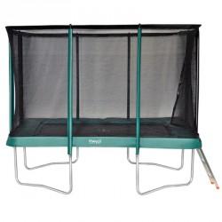 Etan Premium Gold 310x232 cm szögletes trambulin védőhálóval BLACK FRIDAY Etan