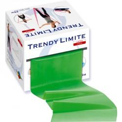 Fitnesz szalag Trendy Limite 25 m zöld