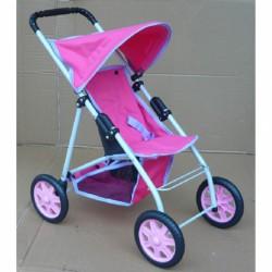 Babakocsi Bambi I. rózsaszín Játék babakocsik