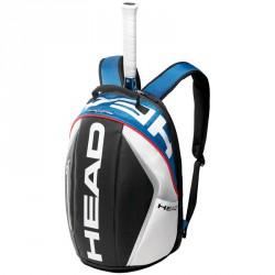 Tenisztáska Head Tour Team kék-fehér Tenisz squash táska Head