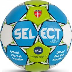Kézilabda Select Light Grippy kék-zöld-fehér méret: 0 Labdák Select