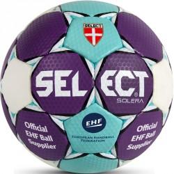 Kézilabda Select Solera EHF lila-kék-fehér méret: 1 Labdák Select