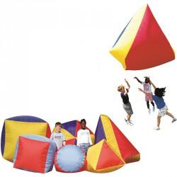 Úszó formák piramis Koordinációs eszközök Megaform