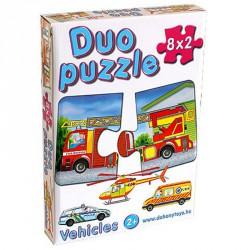 Duo puzzle jármű Puzzle