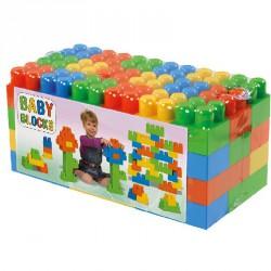 Baby építő fóliás 54 db Építőjátékok