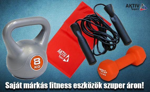 Aktivsport márkás fitnesz eszközök