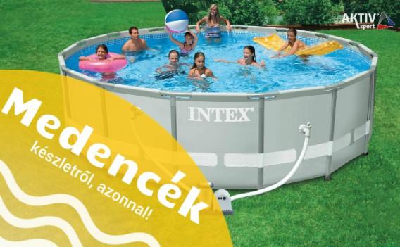 Intex medencék és kiegészítői