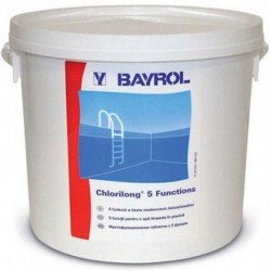 5F tabletta Chlorilong Medence vegyszer Bayrol