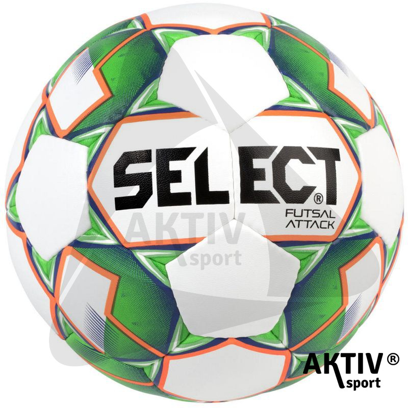 Futsal labda Select Attack fehér-zöld - Futball labda  1fe4fd0613