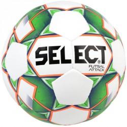 Futsal labda Select Attack fehér-zöld Sportszer Select