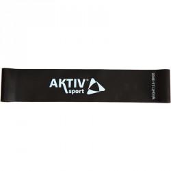 Láberősítő gumihurok Aktivsport fekete extra erős BLACK FRIDAY Aktivsport
