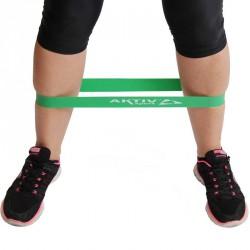 Láberősítő gumihurok Aktivsport zöld erős BLACK FRIDAY Aktivsport