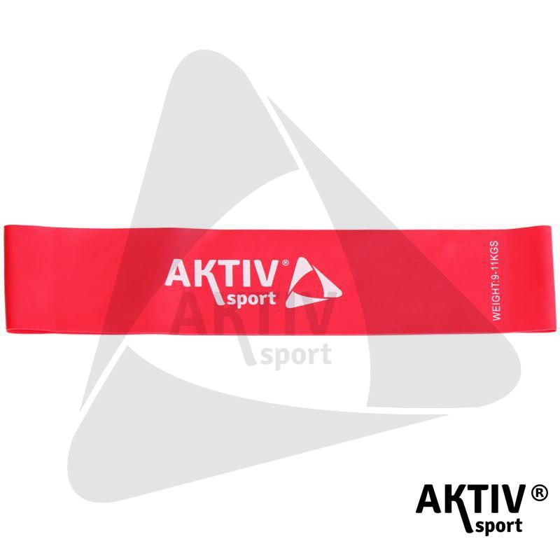 79e44c74474d Láberősítő gumihurok Aktivsport piros gyenge - Fitnesz szalagok ...