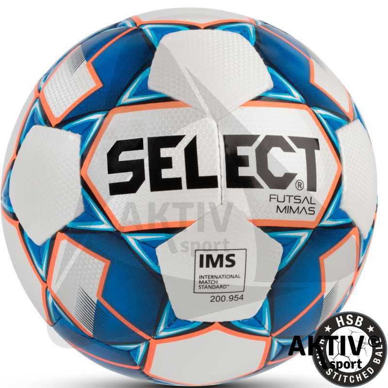 Futsal labda Select Mimas fehér-kék - Futball labda  9d949dc9c2