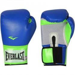 Edzőkesztyű Everlast Pro Style Elite kék-zöld Sportszer Everlast