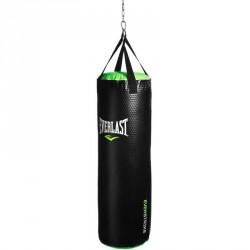 Bokszzsák Everlast Nevatear fekete-zöld töltetlen Sportszer Everlast