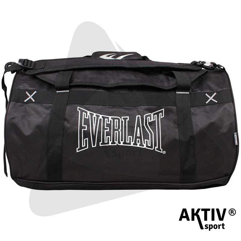 742464c202 Sporttáska Everlast Holdall fekete - Kiegészítők | AktivSport WebÁruház