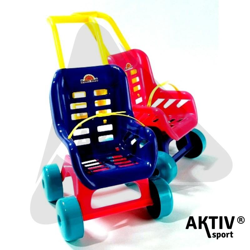 Babakocsi III kék - Műanyag játékok  086d06c78d