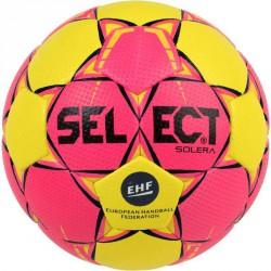 Kézilabda Select Solera pink-sárga 2018 méret: 3 Sportszer Select