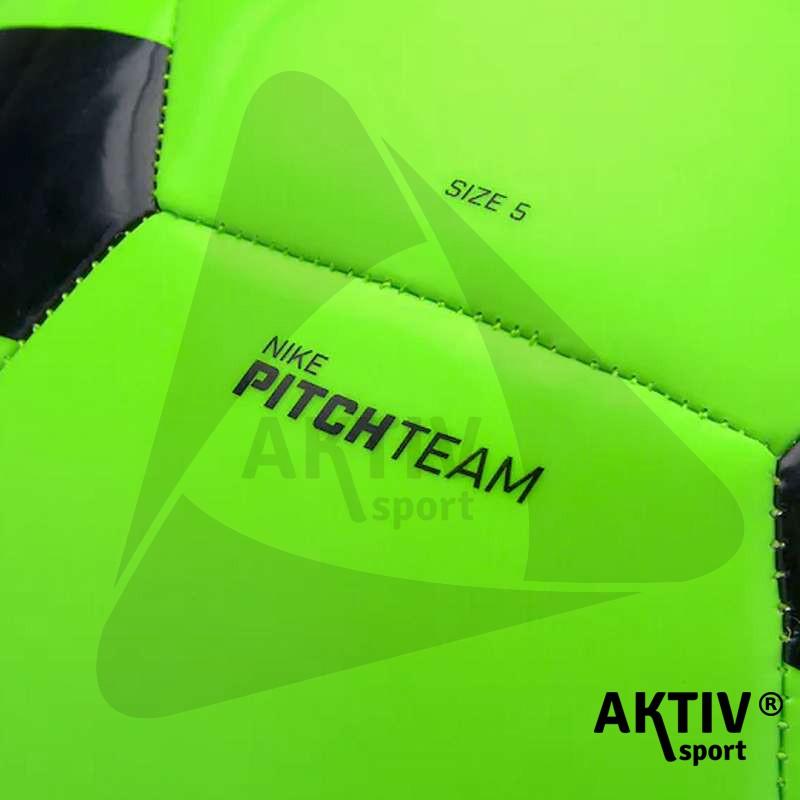 Focilabda Nike Pitch Team zöld-fekete méret  5 - Futball labda ... ecf1ee827e