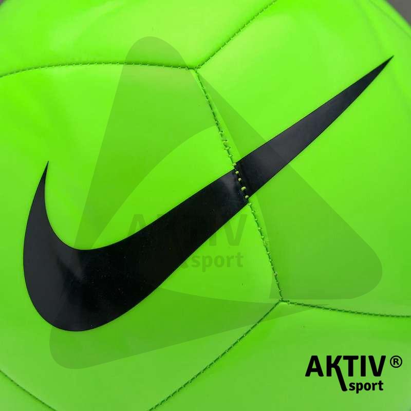 Focilabda Nike Pitch Team zöld-fekete méret  5 - Futball labda ... bc3473f4db