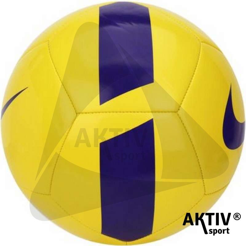 8c9659d476 Focilabda Nike Pitch Team sárga-lila méret: 5 - Futball labda ...