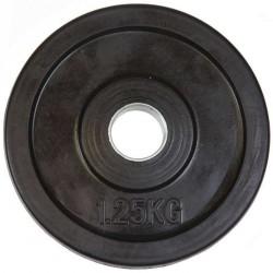 Gumírozott súlytárcsa Aktivsport 1,25 kg 31 mm markolat nélkül Sportszer Aktivsport
