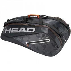 Tenisztáska Head Tour Team 9R Supercombi fekete Sportszer Head