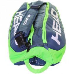 Tenisztáska Head Tour Team 6R Combi kék-zöld Sportszer Head