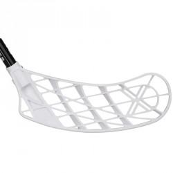 Floorball ütő Salming Campus Shooter 30 fekete-fehér balos 96 cm Sportszer Salming