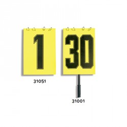 Játékos cseretábla 1-30 sárga Sportszer Liski