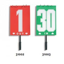 Játékos cseretábla 1-30 piros Sportszer Liski