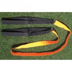 Gyorsaságfejlesztő és erősítő kötél párnázott övvel Sportszer Liski