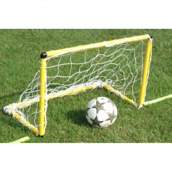 Mini focikapu hálóval 90x60 cm sárga Sportszer Liski