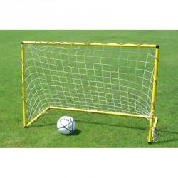 eb98cae44618 Mini focikapu hálóval 160x110 cm sárga Sportszer Liski ...