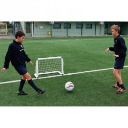 Mini focikapu hálóval 90x60 cm fehér Sportszer Liski