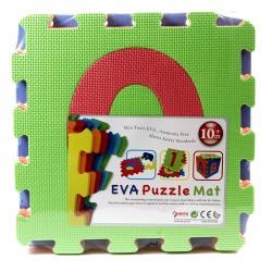 Puzzle szőnyeg számok habszivacs 10 darabos Gyermek bútorok