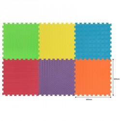 Óriás puzzle tornaszőnyeg habszivacs 6 darabos Gyermek bútorok