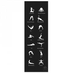 Jóga szőnyeg Trendy Home 180x60x0,45 cm antracit