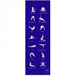 Jóga szőnyeg Trendy Home 180x60x0,45 cm kék Sportszer Trendy