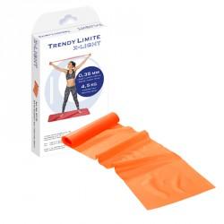 Fitnesz szalag Trendy Limite Band 2,5 m x 15 cm szürke legerősebb